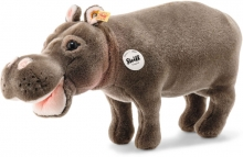Steiff Hippo Hedda 43cm grey brown