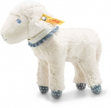 Steiff Lamb Leno 18cm white/petrol