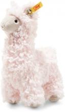 Steiff Lama Luciana 19cm rosa