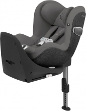Cybex Platinum Sirona Z I-Size incl. SensorSafe Soho Grey Reboarder