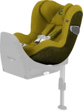 Cybex Platinum Sirona Z I-Size PLUS incl. SensorSafe Mustard Yellow Reboarder