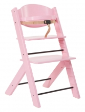 Treppy 1010 pink highchair