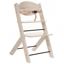 Treppy 2030 woody white highchair