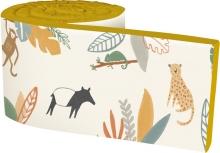 Sebra Baby bumper Wildlife