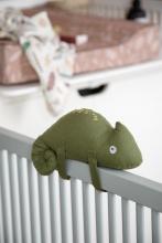 Sebra Musical toy Carley the chameleon moss green
