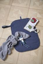 Sebra Crochet Toy Siggy the rabbit royal blue