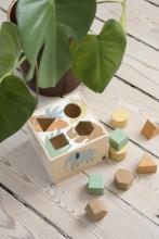 Sebra Wooden shape sorter Wildlife