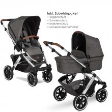 ABC Design Diamond Edition Salsa 4 Air asphalt incl. Accessory bundle