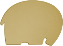 Sebra Silicone placemat Fanto the elephant savannah yellow