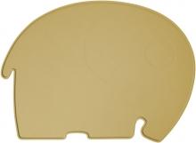 Sebra Silikon Platzdeckchen Fanto der Elefant savannah yellow