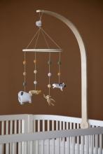 Sebra Crochet Baby mobile Wildlife