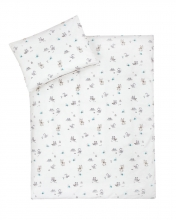 Zöllner Jersey bedding Fox and Elk 100x135cm
