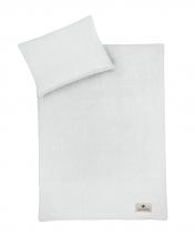 Zöllner Muslin bedding grey 100x135cm