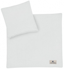 Zöllner Muslin bedding grey 80x80cm