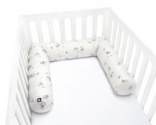 Zöllner Cot Bumper 180cm Fox and Elk