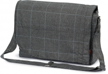 Hartan changing bag City bag 531 selita check