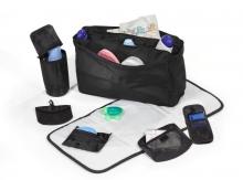 Hartan changing bag City bag 531 selita check