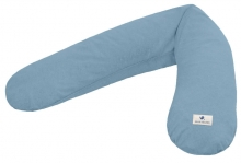 Zöllner Terra muslin nursing pillow blue 190cm