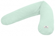 Zöllner Terra muslin nursing pillow green 190cm