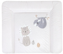 Zöllner Changing mat Softy Foil lion and sloth 75x85