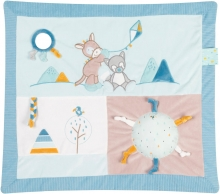 Nattou Tim&Tiloo Crawling blanket with play bow