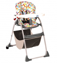 Chicco high chair Happy snack fresh