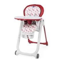 Chicco highchair Polly Progres5 red