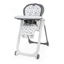 Chicco highchair Polly Progres5 grey