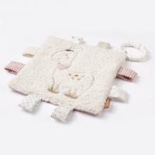Fehn 58178 Crinkle toy llama with ring