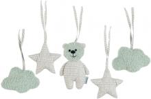 Sterntaler Toy pendant set Baylee green