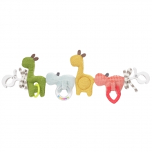 Fehn 059137 pram rattle chain Loopy and Lotta