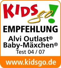 Alvi Outer sleeping bag Baby-Mäxchen® Outlast® 68/74 Little Stars