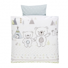 Alvi Bedding Tipi Bear 80x80cm