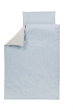 Alvi Bettwäsche Shell blau 100x135