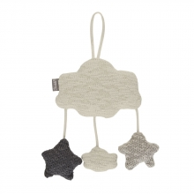 Sterntaler knitted mobile sheep ecru melange