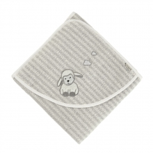 Sterntaler towel Stanley 100x100 grey