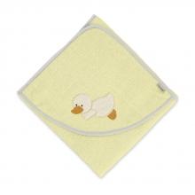 Sterntaler towel Edda 100x100 yellow