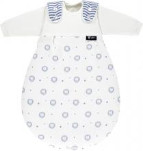 Alvi Baby-Mäxchen® 3 tlg. 56/62 bellybutton Classic line Lion blue