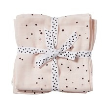 Done by Deer Swaddle 2-pack, Dreamy dots, powder
