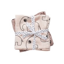 Done by Deer Swaddle 2-pack, Contour, powder