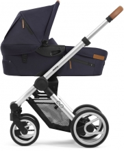 Mutsy Evo Nomad Deep Navy 2019 including carrycot, seat and frame