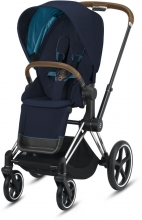 Cybex Priam Nautical Blue incl. frame and seat with sun canopy
