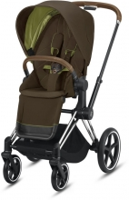 Cybex Priam Khaki Green incl. frame and seat with sun canopy