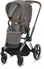 Cybex Priam Soho Grey incl. frame and seat with sun canopy