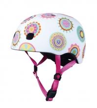 Micro AC 2086 helmet size S (48-53) Doodle Dot