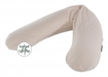 Theraline nursing pillow cover design 167 pebble grey, bamboo-collection