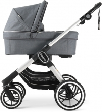 Emmaljunga NXT90F Lounge Grey Eco including carrycot