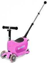 Micro MMD033 Kickboard mini2go deluxe plus pink