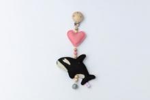 Deine Sommerliebe Clip Orca pink