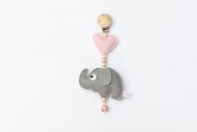Deine Sommerliebe Clip Elephant pink